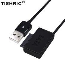 TISHRIC USB 2.0 SATA 7 + 6 Kablo Dönüştürücü Harici Optik Sürücü Adaptörü Dizüstü CD ROM DVD Ile LED