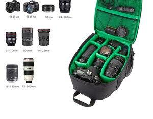Image 5 - Mochila para cámara de fotografía bolsa DSLR para Canon EOS Rebel SL3 SL2 SL1 T6 T7 T7i T100 T6i T5i T6s T5 T4i T3i T3 T2i T1i XTi
