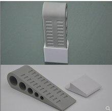 цена на 6pcs Door Stopper  SofiHome Premium Heavy Duty Door Stop Rubber Wedge with Decorative Holder - Ideal door gaps