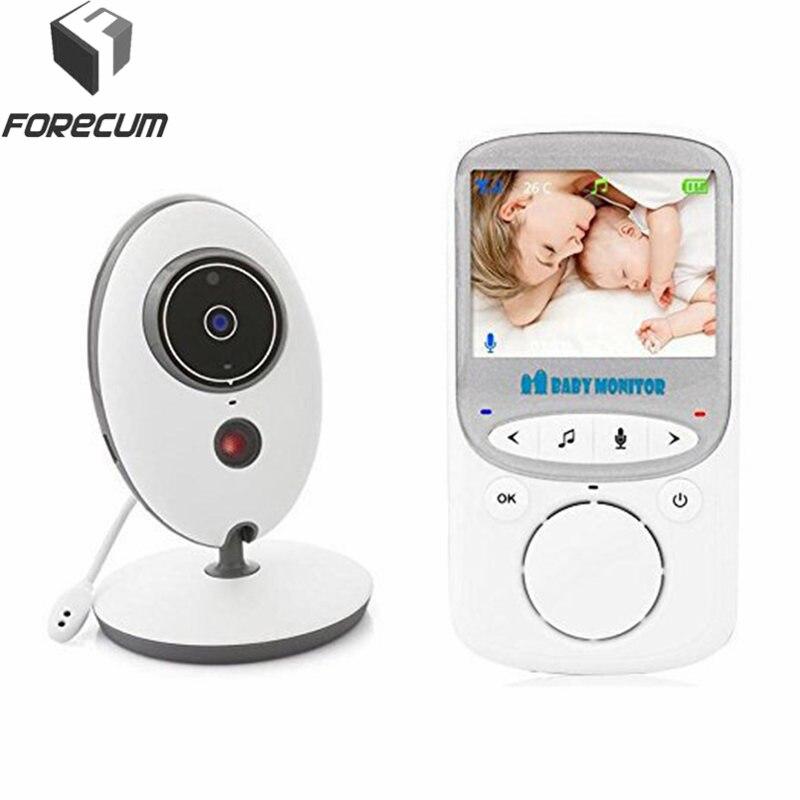 FORECUM sans fil numérique vidéo bébé moniteur caméra LCD affichage VB605 deux voies parler arrière Surveillance moniteurs caméras de Surveillance