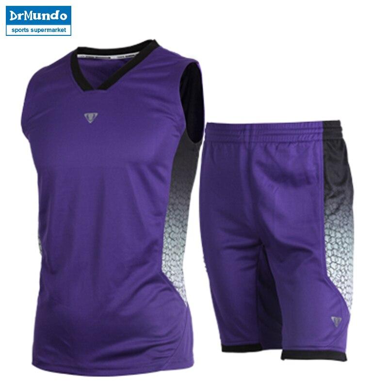 Men Dry Fit Basketball Set Sports Jersey Training Suit GYM Basketball jersey Team Game Boy Custom