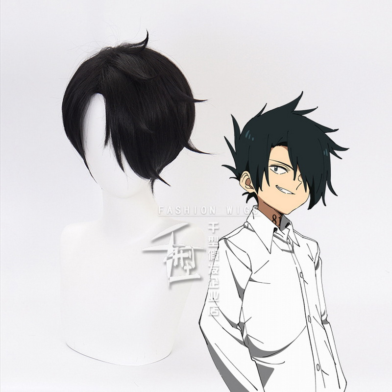The Promised Neverland Emma Costume Party Wig Straight Cosplay Hair