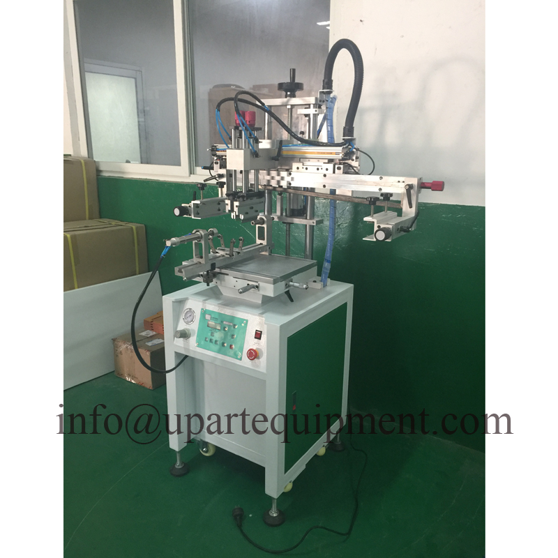 Semi Automatic Flat/cylindrical Screen Printing Machine