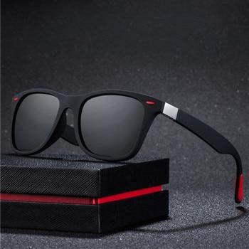 New Fashion Square Ladies Polarizing Sunglasses UV400 Men's Glasses Classic Retro Brand Design Driving Sunglasses asouz 2019 new box ladies sunglasses uv400 fashion men s sunglasses classic brand design glasses sports driving sunglasses