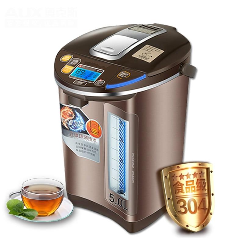 Thermos garrafa térmica de alta qualidade Elétrica: Proteção Contra Superaquecimento 5L chaleira elétrica do aço inoxidável 304 novo