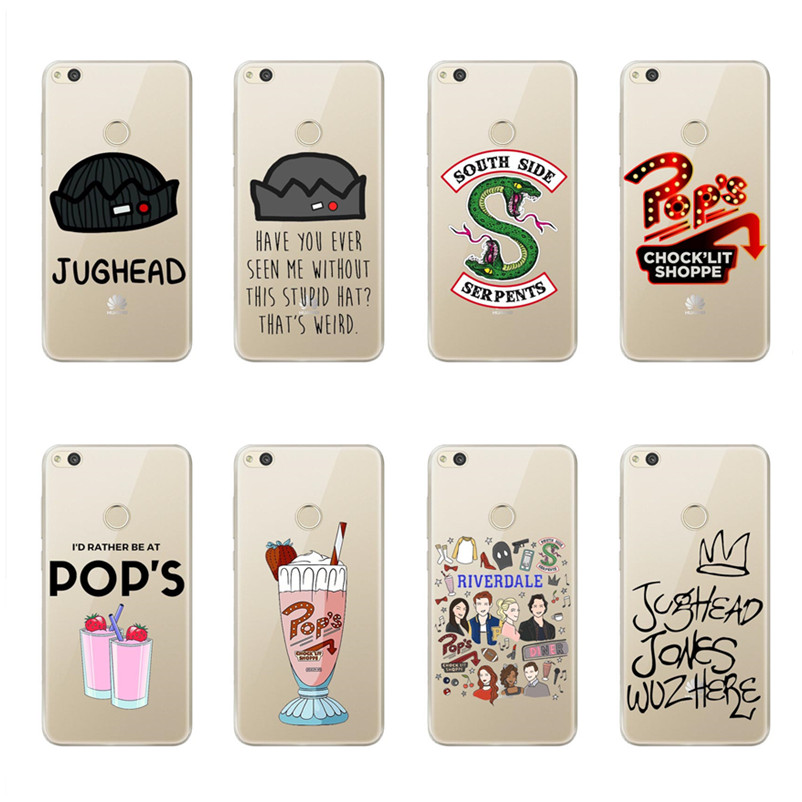 online store 98dc0 55cfc US $2.03 40% OFF|Riverdale Southside Serpent Jughead Jones Clear Soft  silicone Phone Case Cover For Huawei P8 Lite 2017 P9 Lite P10 lite P10  Plus-in ...