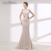 Vintage Lace Mermaid Evening Dresses 2018 Robe Longue Soiree Ever Pretty Banquet Dress Women Formal Party