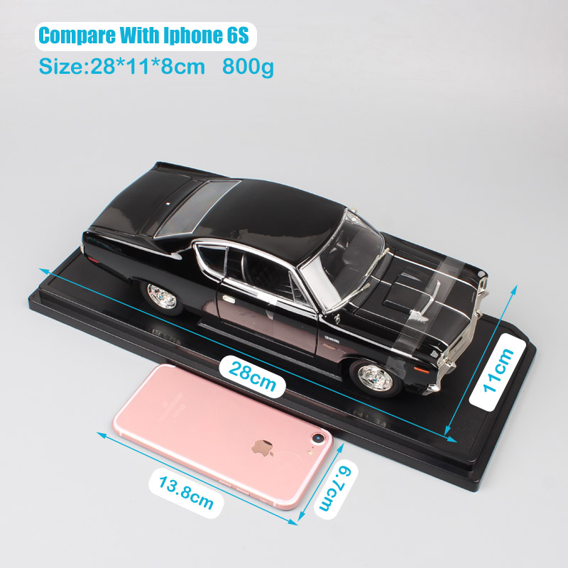 boys 1 18 old 1970 Amc Rebel Rambler classic the scale car hardtop diecast vehicle auto model toy miniature gifts for collection in Diecasts Toy Vehicles from Toys Hobbies