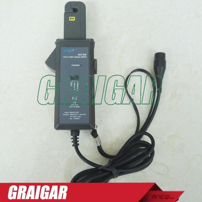 ETCR007AD AC/DC Clamp Leakage Current Sensor Probe Sensor etcr030 high accuracy clamp leakage current sensor