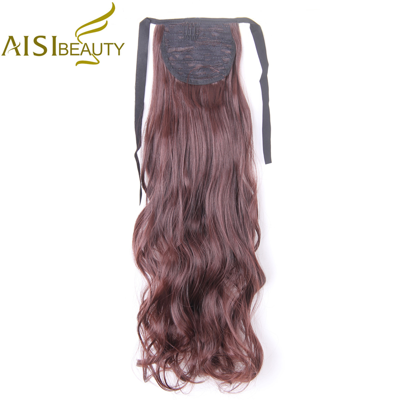 AISI BEAUTY Hosszú vízhullámú stílusos - Szintetikus haj