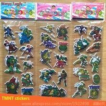 10 Pcs/Lot 3D animation TMNT wall stickers,3d Game Teenage Mutant Ninja Turtles stickers,For Kids rooms Fashion decor sticker