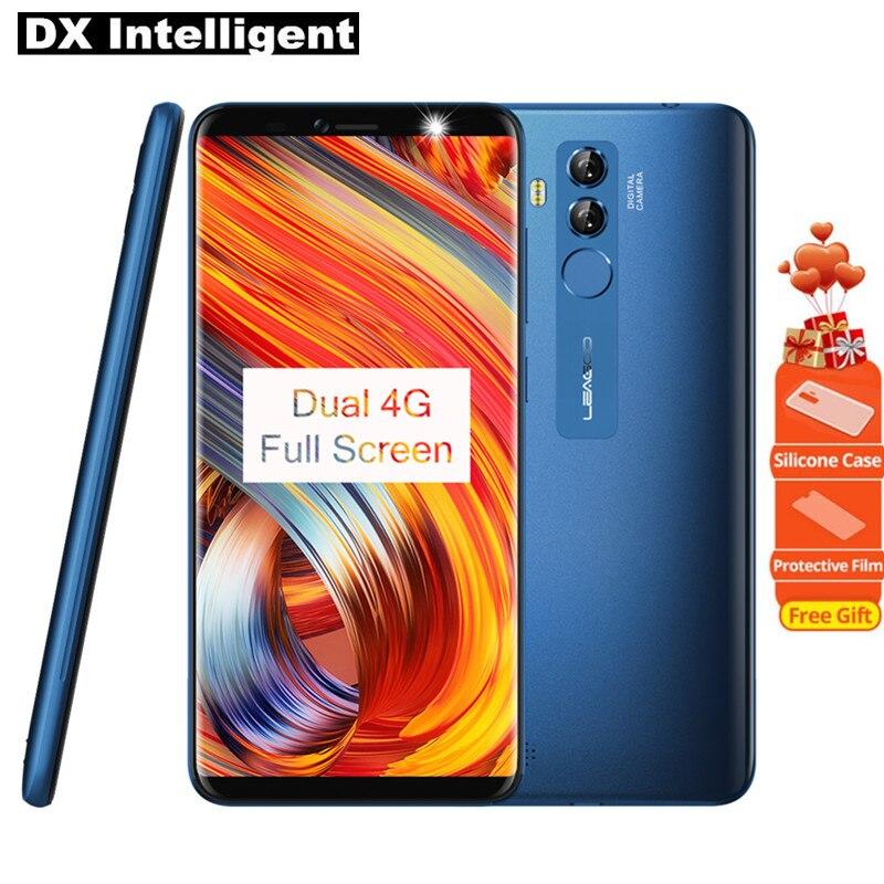 LEAGOO origine M9 PRO Face Unlock 4g Mobile Téléphone Android 8.1 5.72 pouce 18:9 HD MT6739V Qaud Core 2 gb 16 gb 13MP GPS D'empreintes Digitales