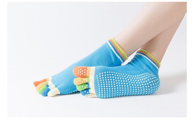 5 par lote mulheres meias de yoga