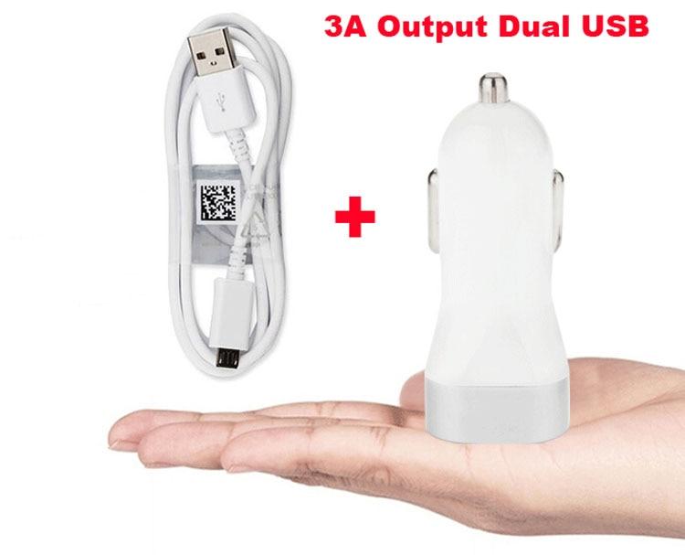 2A 1A Dual USB сотовый телефон автомобильное зарядное устройство зажигалка + USB кабель для Doogee X30/Pro F7/ T6 Pro/Турбо 2 DG900/X9 мини T5S, T6 Pro