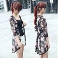 Новинка 2016! Женская мода. Шифоновая блузка для девушек. Один размер, высокое качество. Бесплатная доставка