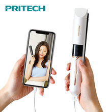 Protable Rechargeable PRITECH Hair Straightener Mini Flat Iron