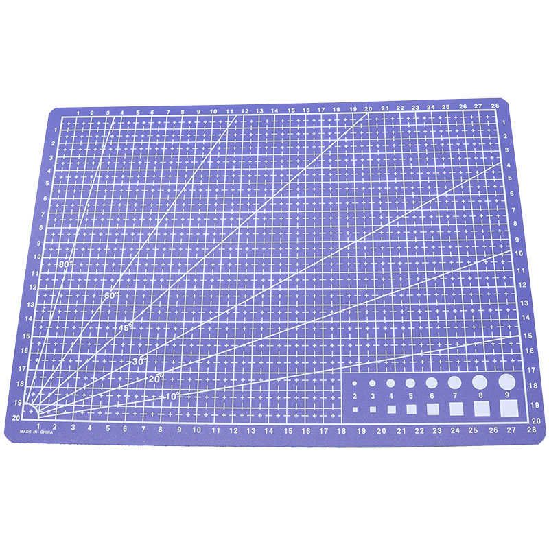 A4 (30 * 22 Cm) Cutting Pad Plate Drawing Tool Template Feet Making Drawing Rule Children'S Student Supplies Art Plate