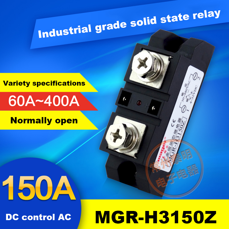 SSR MGR-1 A4825 Single Phase Solid State Relay 25A Exchange Control AC 220VAC-AC single phase solid state relay 220v ssr mgr 1 d4860 60a dc ac