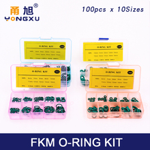 Thickness 1.5/1.9/2.4/3.1/1.8/2.65mm O Rings Rubber Ring Seal FKM Sealing O-rings Washer o-ring set Fuel Assortment Kit Box