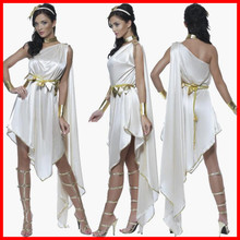 2019 the new Halloween party dress role-playing Greek goddess princess Europe and United States game uniforms women