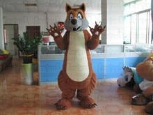 Качество плюшевые ласка маскарадный костюм мультфильм качества Плюшевые  Костюмы Животных(China) 68c1407970200