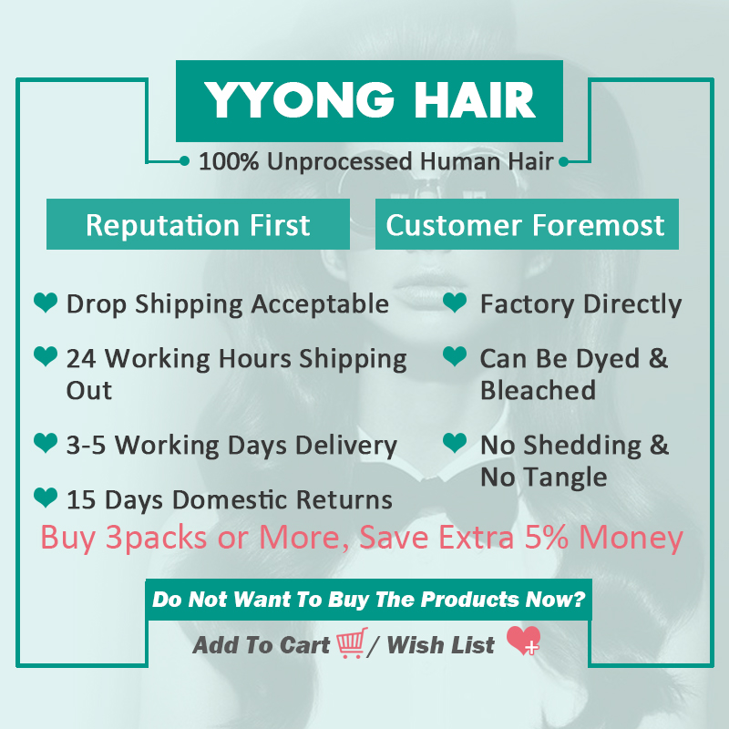 Yyong Brésilien Kinky Bouclés Bundles Avec Fermeture 3 Faisceaux de - Cheveux humains (noir) - Photo 5