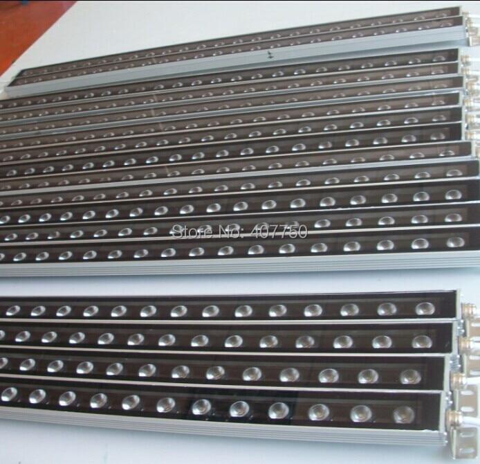 цена на free shipping to USA 1000mm IP67 36x1W DC 24V RF wireless control RGB super thin led wall washer 10pcs/Lot