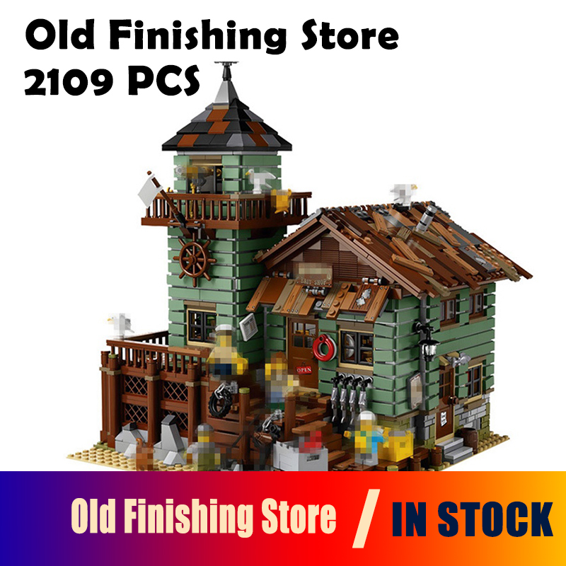 16050 Old Finishing Store Compatible with lego 21310 2109 Pcs Bricks Creative Series Model Building Blocks Toys For Children managing the store