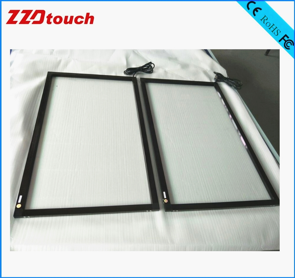 ZZDtouch 55 inch IR touch frame 10 points usb infrared touch screen panel multi touchscreen overlay for touch screen monitor pc-in Touch Screen Panels from Computer & Office