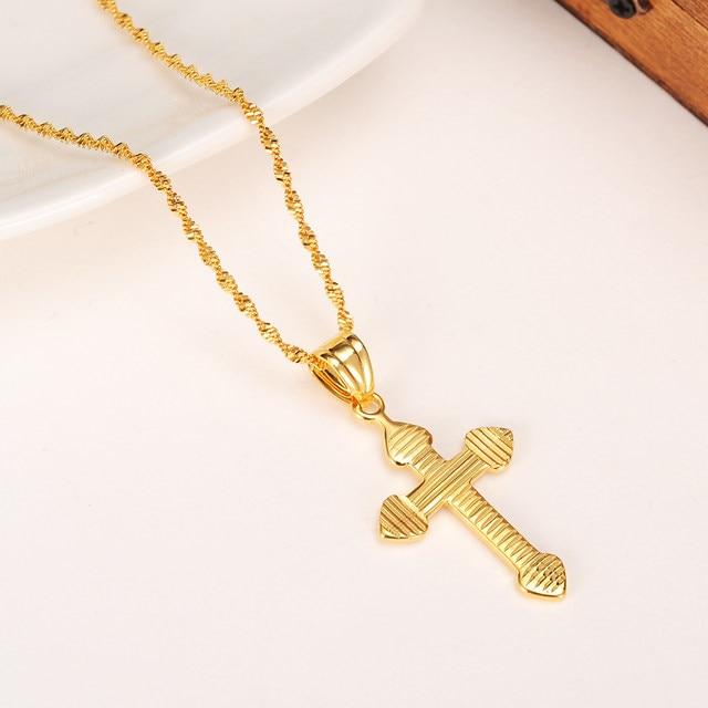 Online shop bangrui small cross pendant necklace women girlmini bangrui small cross pendant necklace women girlmini charm pendant gold color jewelry crucifix christian ornaments aloadofball Choice Image