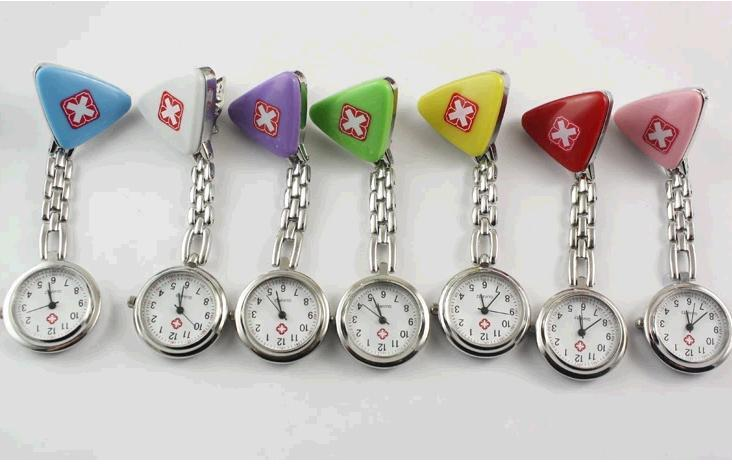 Free Shipping 20pcs/lot More Color Doctors And Nurses Dedicated Hours Nurse Watches Gift
