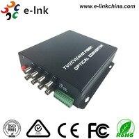 8ch 720 P HDTVI к Волокно преобразователь с RS485 данных