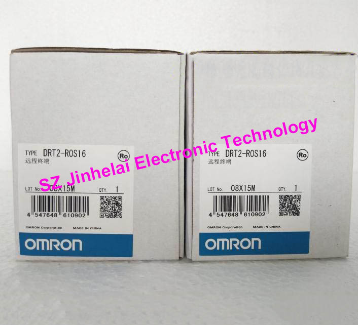 Authentic original DRT2-ROS16 OMRON Remote terminal