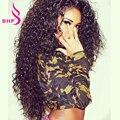 8A Grau Afro Kinky Curly brasileiro Virgem Cabelo 4 Pacotes Cabelo Encaracolado Kinky Tecer Cabelo Humano Brasileiro Tecer Cabelo Virgem feixes