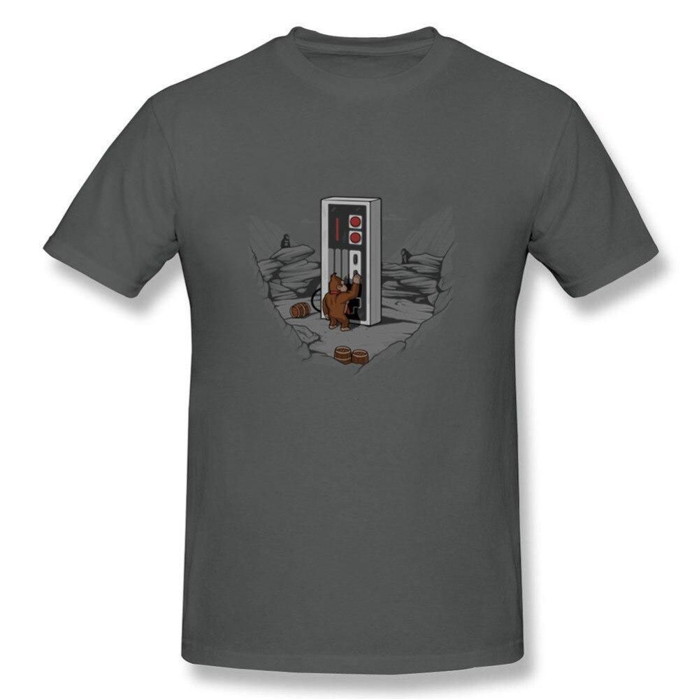 Crewneck Tee Shirts Men Classical Dawn of Gaming T Shirts Men Popular T Shirt 3d Men