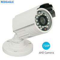1MP 720P AHD Security Camera Outdoor Waterproof Metal Body HD Video Surveillance Night Vision Free Shipping