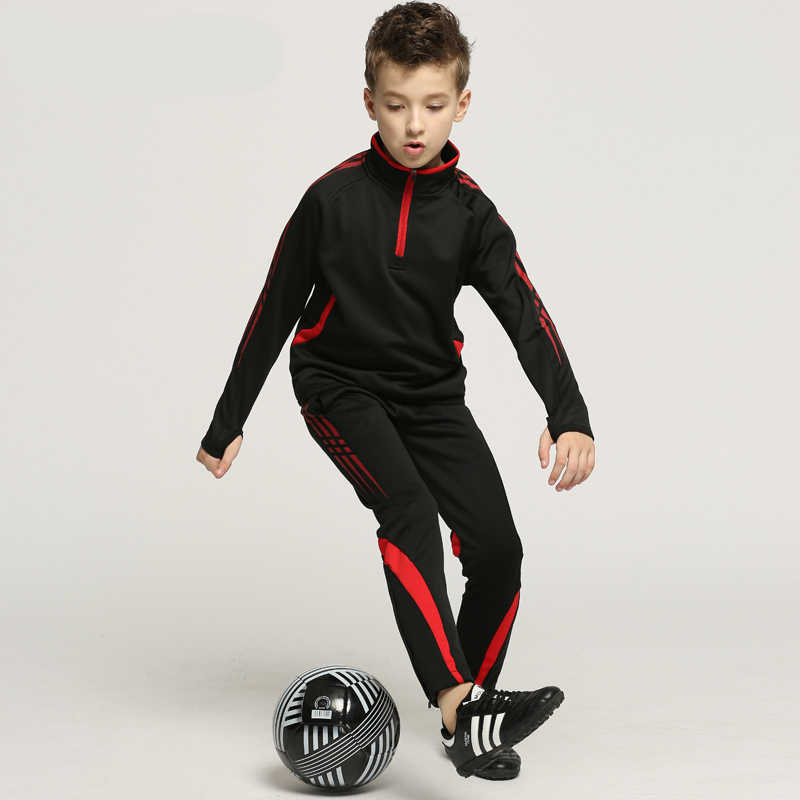 Survetement Football Men Kids 2019 Soccer Jersey Set Blank Women Soccer Jersey Tracksuit Jogging Football Training Suit Uniforms