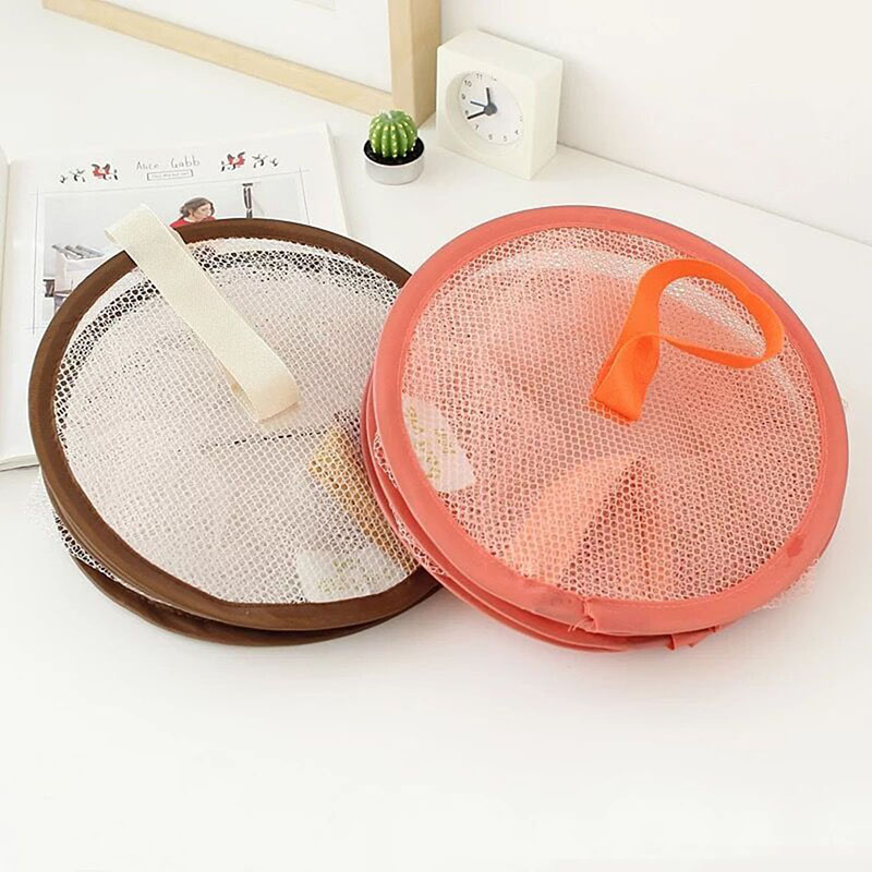 Colorful Underwear Bra Laundry Sweater Hanging Basket Windproof Folding Multi-Layer Drying Rack Mesh Clothes Dryer Net
