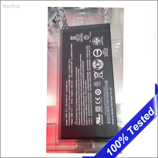 Battery For Acer Lconia One 7 B1-730 B1-730HD New Mobile Phone Replacement A1402 3165142P 3580mAh MLP2964137