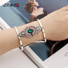 Lzhlq 2019 Новый Модный женский браслет богемный Стразы Браслет