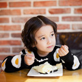 2016 SPRING AUTUMN baby girl clothes child 100% cotton pullover sweater children casual baby omelette sweater BOBO CHOSES EGG