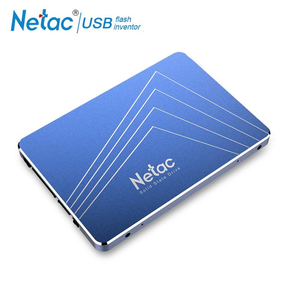 Netac Disco Duro SSD de 240 GB 720 GB 960 GB SATA3 interno de estado sólido SSD 240 GB 120 GB 480 GB 60 GB 1 TB PC portátil disco duro