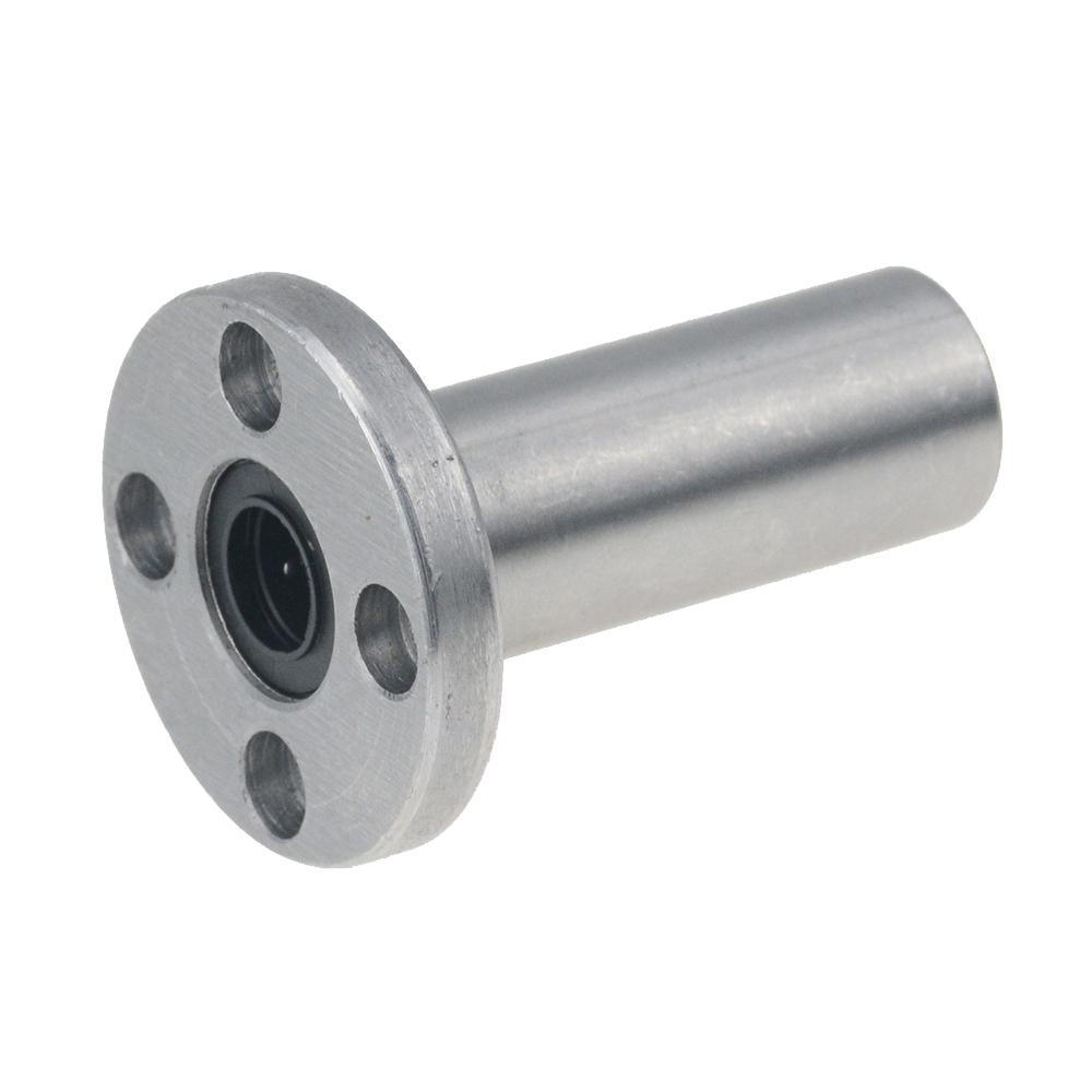 Free shipping LMF25LUU long type 25mm flange linear bearing CNC Linear Bush