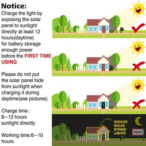 Image 5 - LED F5 50/100/200/500 Outdoor Solar Lampe LED Lichterketten Fee Urlaub Weihnachten Party Girlanden Solar Garten Wasserdicht Lichter