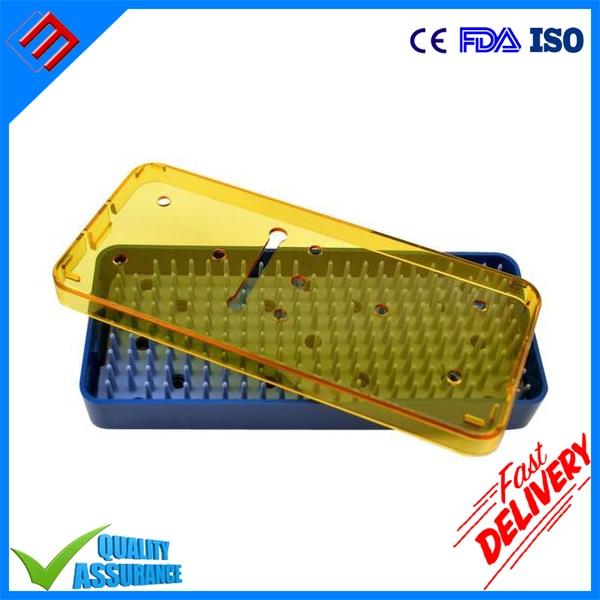 """Plastikowa medyczna okulistyczna stomatologiczna tacka na instrumenty mikro Rozmiar 6 """"x 2,5"""" x 0,75 """""""