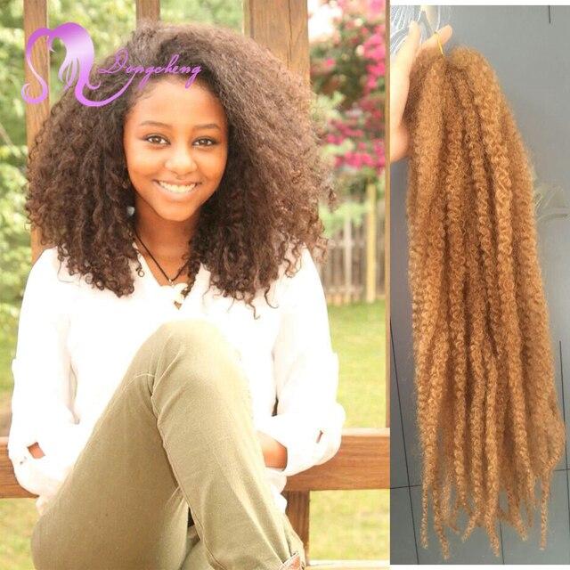 18inch Afro Kinky Twist Hair Crochet Braids 1b 27 Ombre