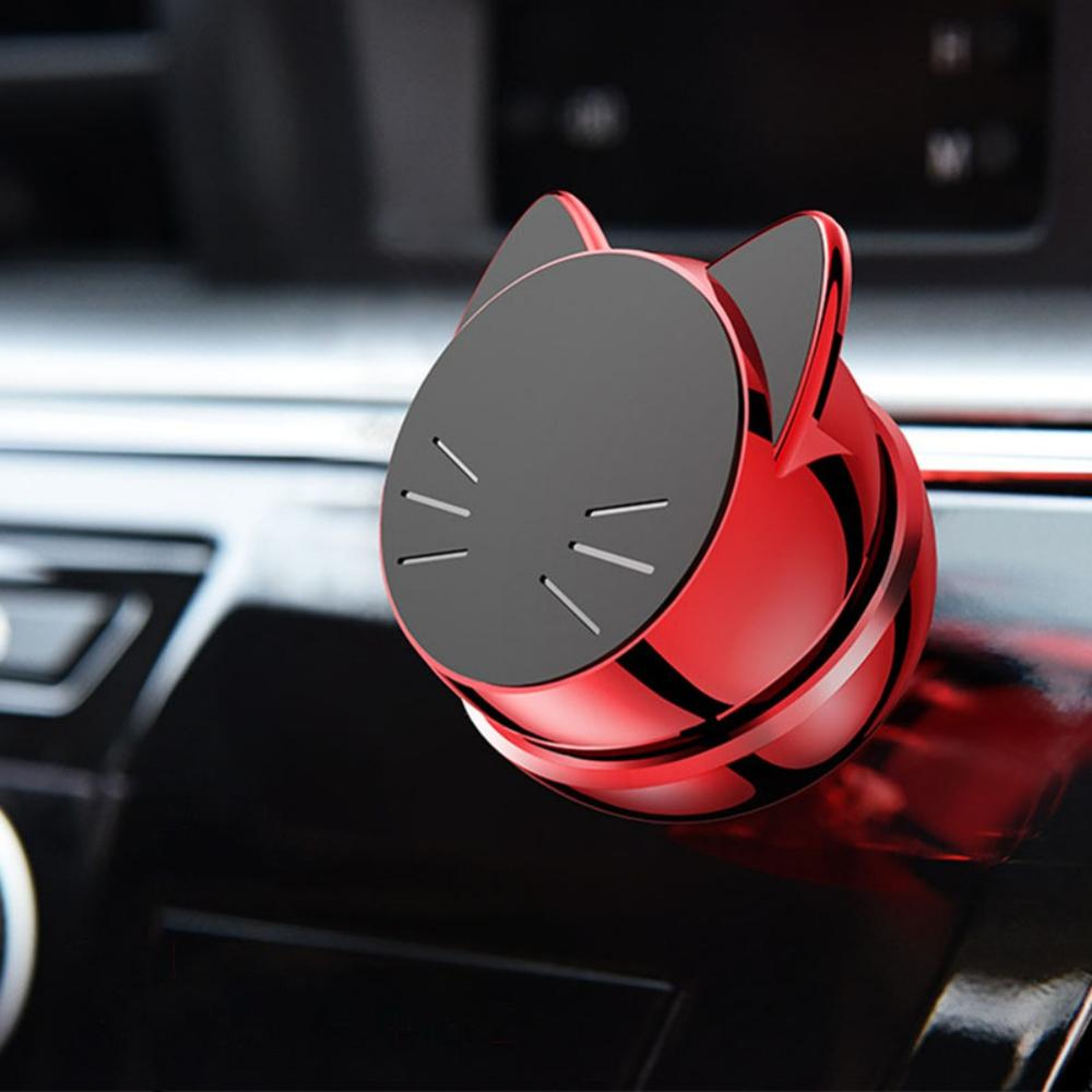 Universal 360 Degree GPS Magnetic Phone Stand Cat Phone Holder Car Mount With Suction Cup Multifunction Navigation Bracket
