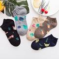 5 пар/партия, женские хлопковые носки
