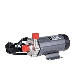 Image 3 - 磁気駆動ポンプ15rで304ステンレス鋼ヘッド、ビール醸造、220ボルトヨーロッパプラグ付き1/2nptスレッドce認証