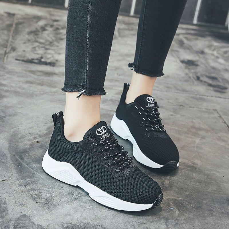 Salvaje Pared Zapatillas Grueso Mujer De Dr Tendencia Zapatos Marca 2018 Alta Deporte Fondo Arriba El Correas Casuales La Black Otoño Nuevas Cómodos TO5aWw